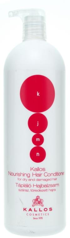 Balsam nutritiv pentru părul uscat și deteriorat - Kallos Cosmetics Nourishing Hair Conditioner — Imagine N3