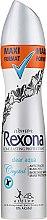 "Deodorant-spray ""Clear aqua"" - Rexona Deodorant Spray — Imagine N1"