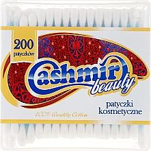 Parfumuri și produse cosmetice Bețișoare din bumbac, 200 bucăți - Cashmir