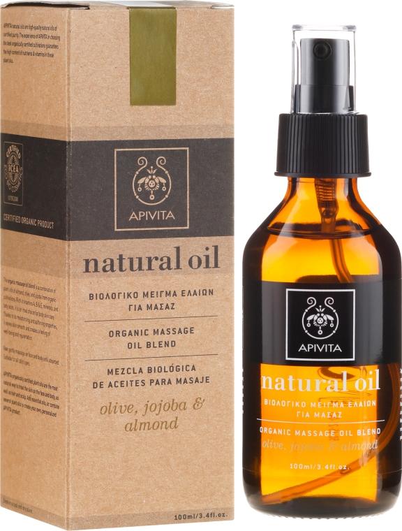Compoziție uleiuri naturale - Apivita Organic oil blend — Imagine N1