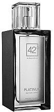 Parfumuri și produse cosmetice 42° by Beauty More Platinum Edition Limitee - Apă de toaletă