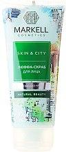 Parfumuri și produse cosmetice Scrub pentru față - Markell Cosmetics Skin&City