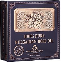 Parfumuri și produse cosmetice Ulei natural de trandafir, în cutie de lemn - Bulgarian Rose Oil
