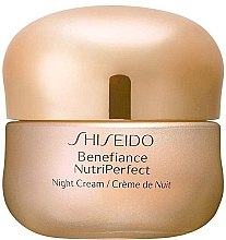Cremă de noapte pentru față - Shiseido Benefiance NutriPerfect Night Cream  — Imagine N1
