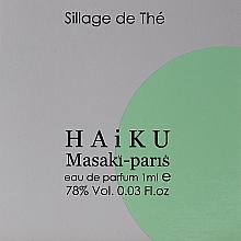 Parfumuri și produse cosmetice Masaki Matsushima Haiku Sillage de The - Apă de parfum (tester)