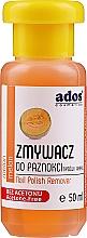 """Parfumuri și produse cosmetice Soluție pentru îndepărtarea ojei, fără acetonă """"Pepene galben"""" - Ados Nail Polish Remover"""