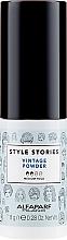 Parfumuri și produse cosmetice Pudră pentru volumul părului - Alfaparf Style Stories Vintage Powder Medium Hold