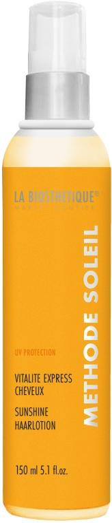 "Balsam-spray bifazic ""Protecție solară"" - La Biosthetique Methode Soleil Vitalite Express Cheveux — Imagine N1"