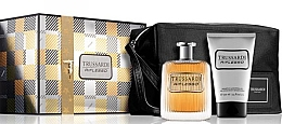 Parfumuri și produse cosmetice Trussardi Riflesso - Set (edt/100ml + sh/g/100ml + bag)