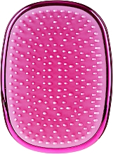 Parfumuri și produse cosmetice Perie de păr - Twish Spiky 3 Hair Brush Shining Pink