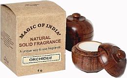 "Parfumuri și produse cosmetice Cremă-parfum naturală ""Orchidee"" - Shamasa"