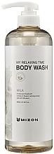 Parfumuri și produse cosmetice Gel de duș cu lapte - Mizon My Relaxing Time Body Wash