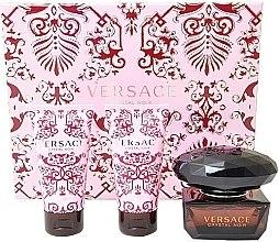 Versace Crystal Noir - Set (edt 50 + b/l 50 + sh/g 50) — Imagine N1