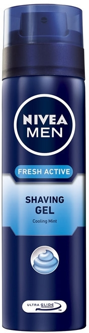 "Gel pentru ras ""Simțul de prospețime"" - Nivea For Men Fresh Active Shaving Gel — Imagine N1"