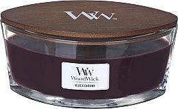 Parfumuri și produse cosmetice Lumânare aromată în suport de sticlă - Woodwick Ellipse Black Cherry