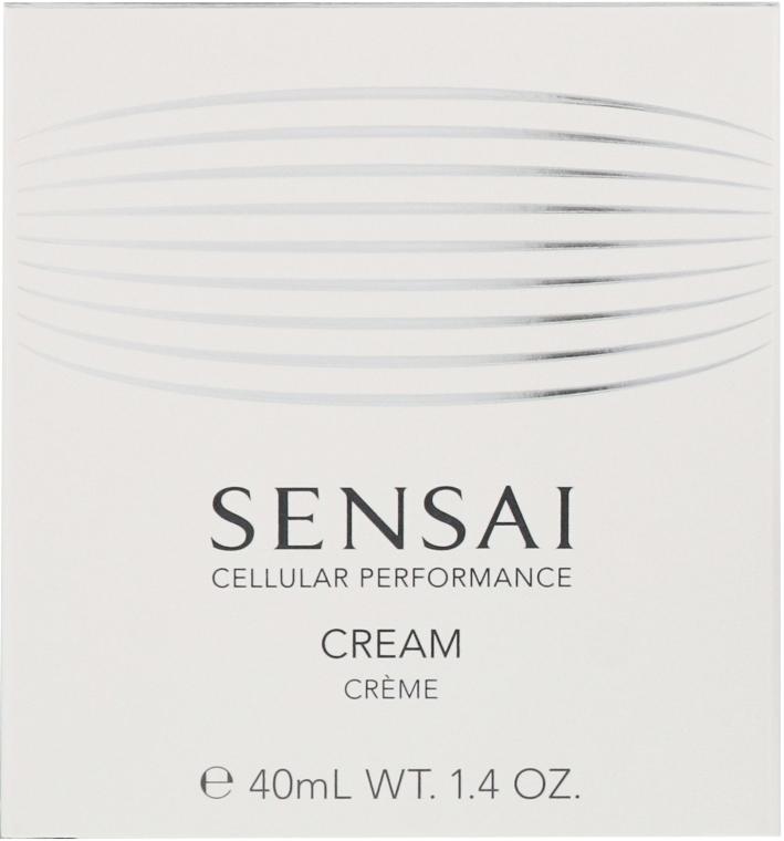 Cremă revitalizantă cu efect anti-îmbătrânire - Kanebo Sensai Cellular Performance Cream — Imagine N2