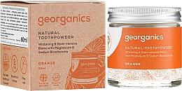 Parfumuri și produse cosmetice Praf natural de dinți - Georganics Red Mandarin Natural Toothpowder