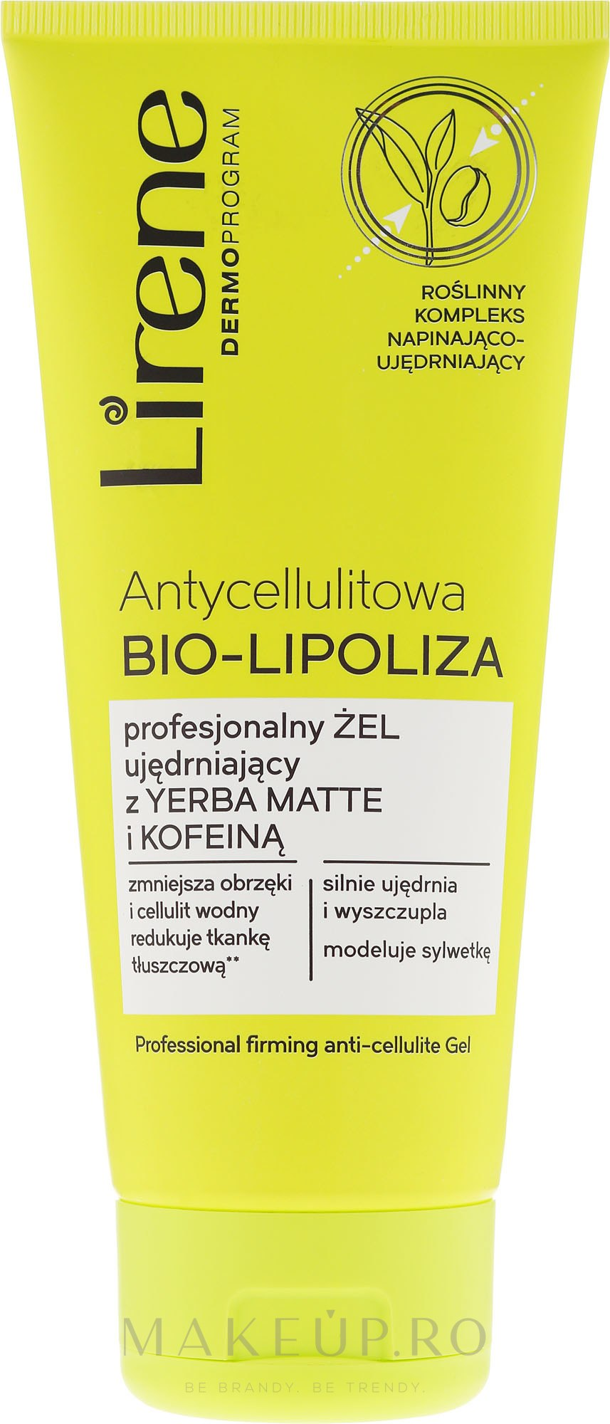 Gel de corp - Lirene Anti-Cellulite Bio-Lipoza — Imagine 200 ml