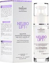 Parfumuri și produse cosmetice Crema pentru pleoape - Farmona Professional Neuro Lift+ Mimic Wrinkle Reducer