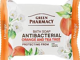 """Parfumuri și produse cosmetice Săpun antibacterian pentru mâini """"Portocală și Arbore de ceai"""" - Green Pharmacy"""