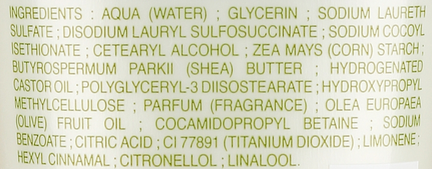 "Ulei de duș ""Ulei de măsline"" - Le Petit Olivier Shower Butter Olive Oil — Imagine N3"