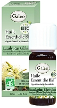 Parfumuri și produse cosmetice Ulei esențial organic de eucalipt globular - Galeo Organic Essential Oil Eucalyptus Globulus