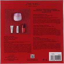 Set - Shiseido White Lucent Beauty Blossoms Holiday Kit (f/cr/50ml + f/foam/5ml + f/softner/7ml + conc/10ml) — Imagine N3