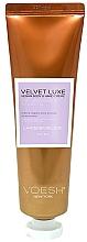 Parfumuri și produse cosmetice Cremă cu extract de lavandă pentru mâini și corp - Voesh Velvet Luxe Lavender Soothe Vegan Body&Hand Creme