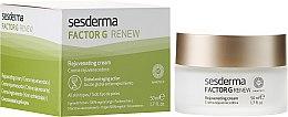 Parfumuri și produse cosmetice Cremă de față regenerantă anti-îmbătrânire - SesDerma Laboratories Factor G Anti-Aging Regenerating Facial Cream