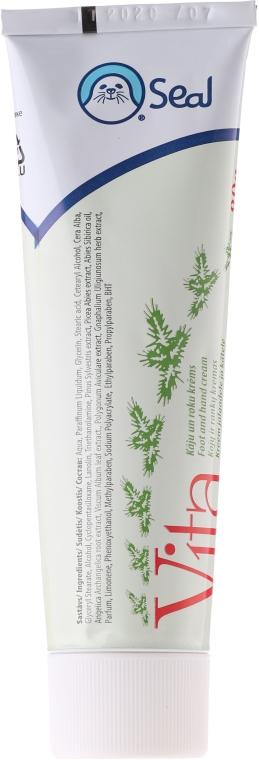 Cremă de mâini și picioare - Seal Cosmetics Vita Food And Hand Cream — Imagine N1