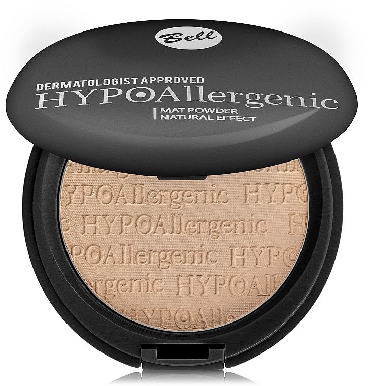 Pudră hipoalergenică cu efect matifiant - Bell HypoAllergenic Mat Powder