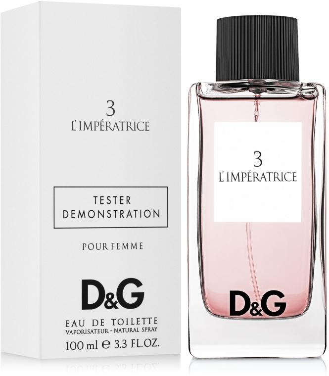 Dolce & Gabbana Anthology L`Imperatrice 3 - Apă de toaletă (tester cu capac) — Imagine N3