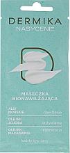 Parfumuri și produse cosmetice Mască hidratantă pentru toate tipurile de piele - Dermika Plenitude Bio-Moisturizing Mask