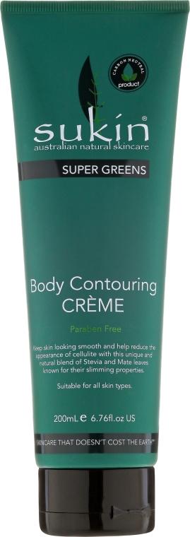 Cremă de corp - Sukin Super Greens Body Contouring Creme — Imagine N1