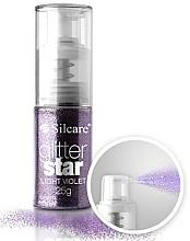 Parfumuri și produse cosmetice Paiete pentru decorare - Silcare Glitter Star