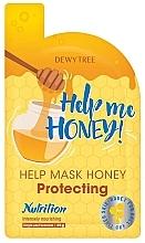 Parfumuri și produse cosmetice Mască de protecție pentru față - Dewytree Help Me Honey! Protecting Mask
