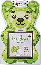 Parfumuri și produse cosmetice Mască de față - SNP Ice Bear Cica Mask
