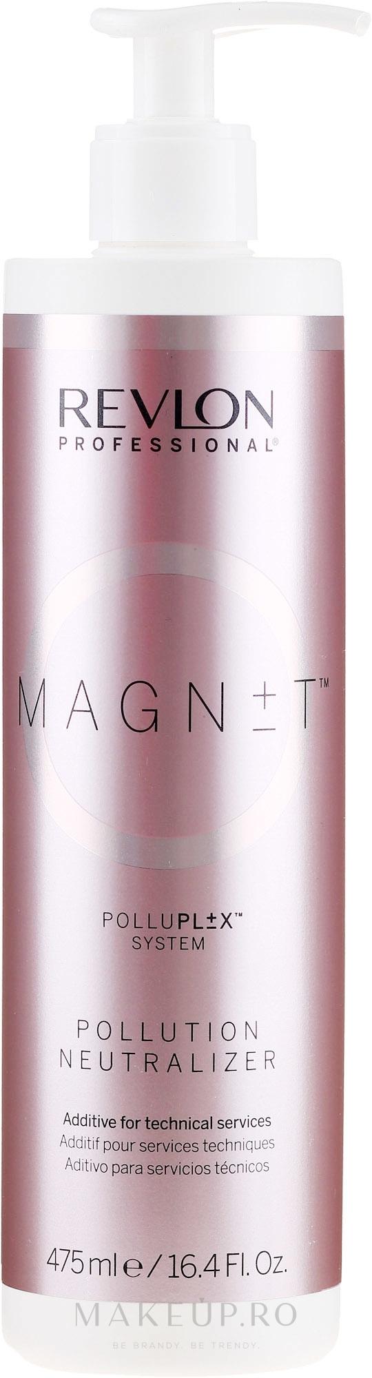 Neutralizator împotriva impurităților - Revlon Professional Magnet Pollution Neutralizer — Imagine 475 ml