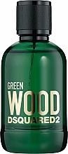 Parfumuri și produse cosmetice Dsquared2 Green Wood Pour Homme - Apă de toaletă (tester cu capac)
