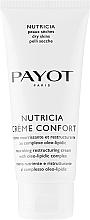 Parfumuri și produse cosmetice Cremă nutritivă cu efect regenerator pentru piele uscată - Payot Nutricia Creme Confort Nourishing & Restructuring Cream