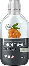 """Parfumuri și produse cosmetice Apă de gură pentru respirație proaspătă """"Citrus"""" - Biomed Citrus Fresh Mouthwash"""