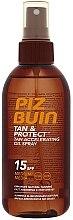Parfumuri și produse cosmetice Ulei de protecție pentru bronzare rapidă - Piz Buin Tan&Protect Tan Accelerating Oil Spray SPF15