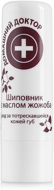 Ruj igienic cu extract de măceșe și jojoba - Domashniy Doktor