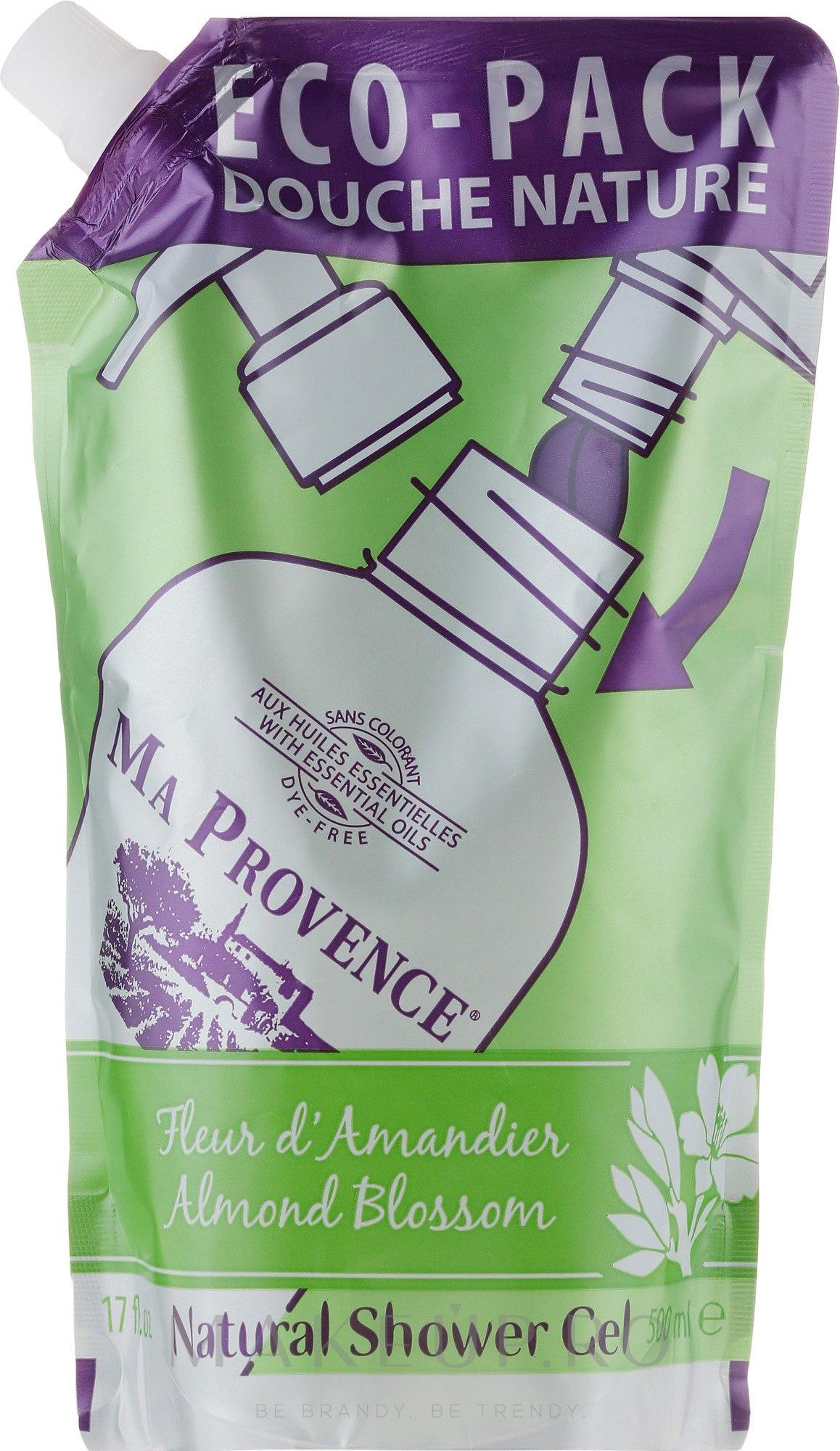 "Gel de duș ""Migdale"" - Ma Provence Shower Gel Almond (Supliment) — Imagine 500 ml"