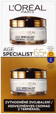 Set - L'Oreal Paris Age Specialist 65+ (cr/50ml + cr/50ml)
