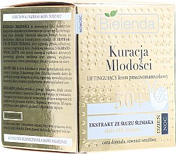 Parfumuri și produse cosmetice Cremă de față - Bielenda Kuracja Mlodosci Cream 50+