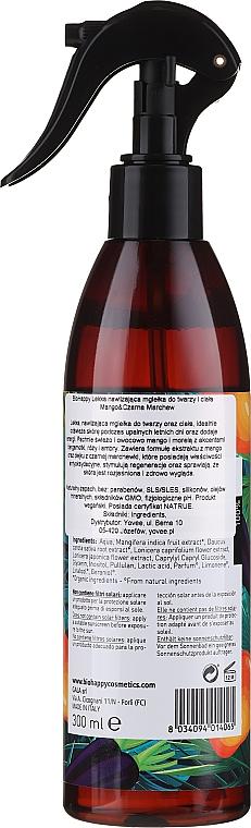 "Spray pentru corp ""Mango și morcov negru"" - Bio Happy Body Mist Mango & Black Carrot — Imagine N2"