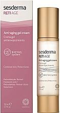 Parfumuri și produse cosmetice Gel-cremă anti-îmbătânire - SeSderma RetiAge Anti-aging Gel Cream