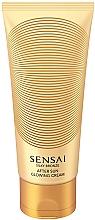 Parfumuri și produse cosmetice Cremă sclipitoare de corp - Kanebo Sensai Silky Bronze After Sun Glowing Cream