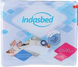 Parfumuri și produse cosmetice Pelinci de unică folosință, 20 bucăți - Indasec Indasbed